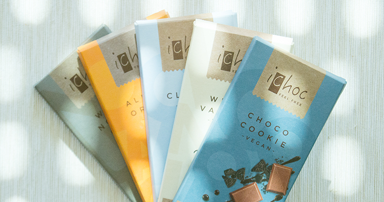 chocolates veganos ichoc